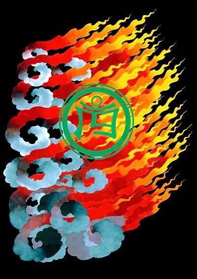 les Thangkas Garuda_flame_th_khrom_wisdom_fire_400_564